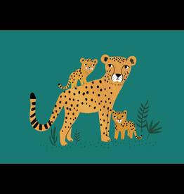 Petit Monkey Wenskaart Cheetah