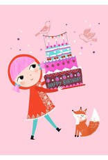 Petit Monkey Wenskaart happy birthday