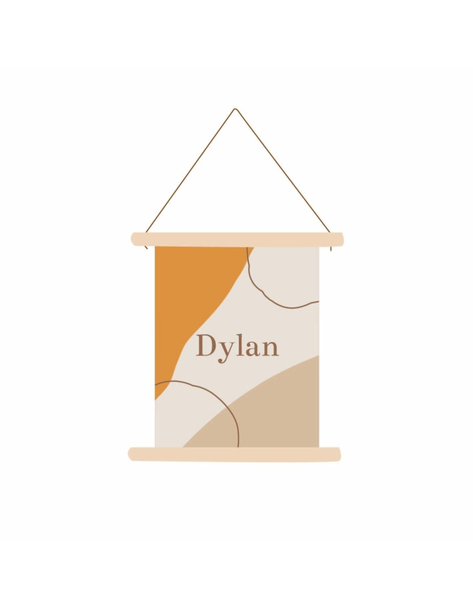 studiobydiede Textielposter Dylan