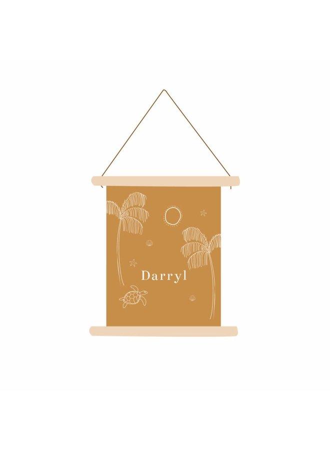 Textielposter Darryl