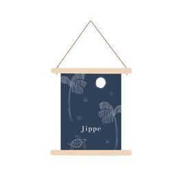 studiobydiede Textielposter Jippe