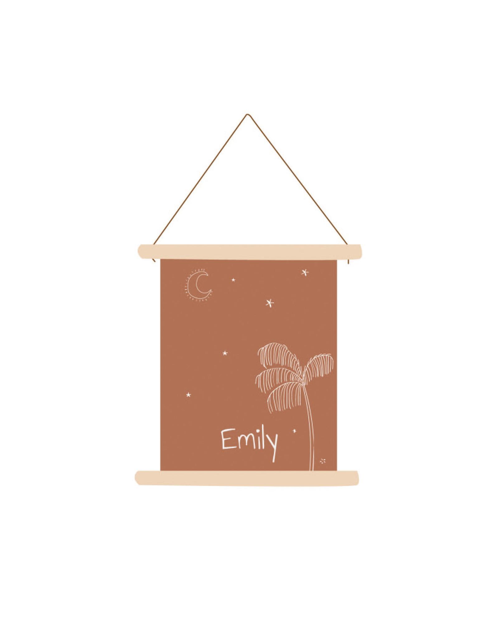 studiobydiede Textielposter Emily