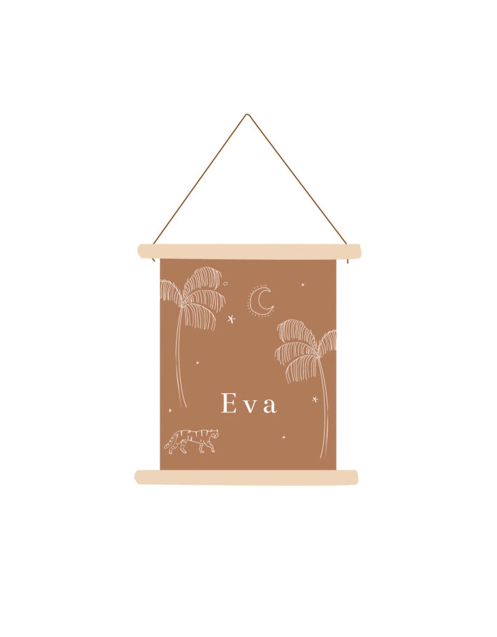 studiobydiede Textielposter Eva