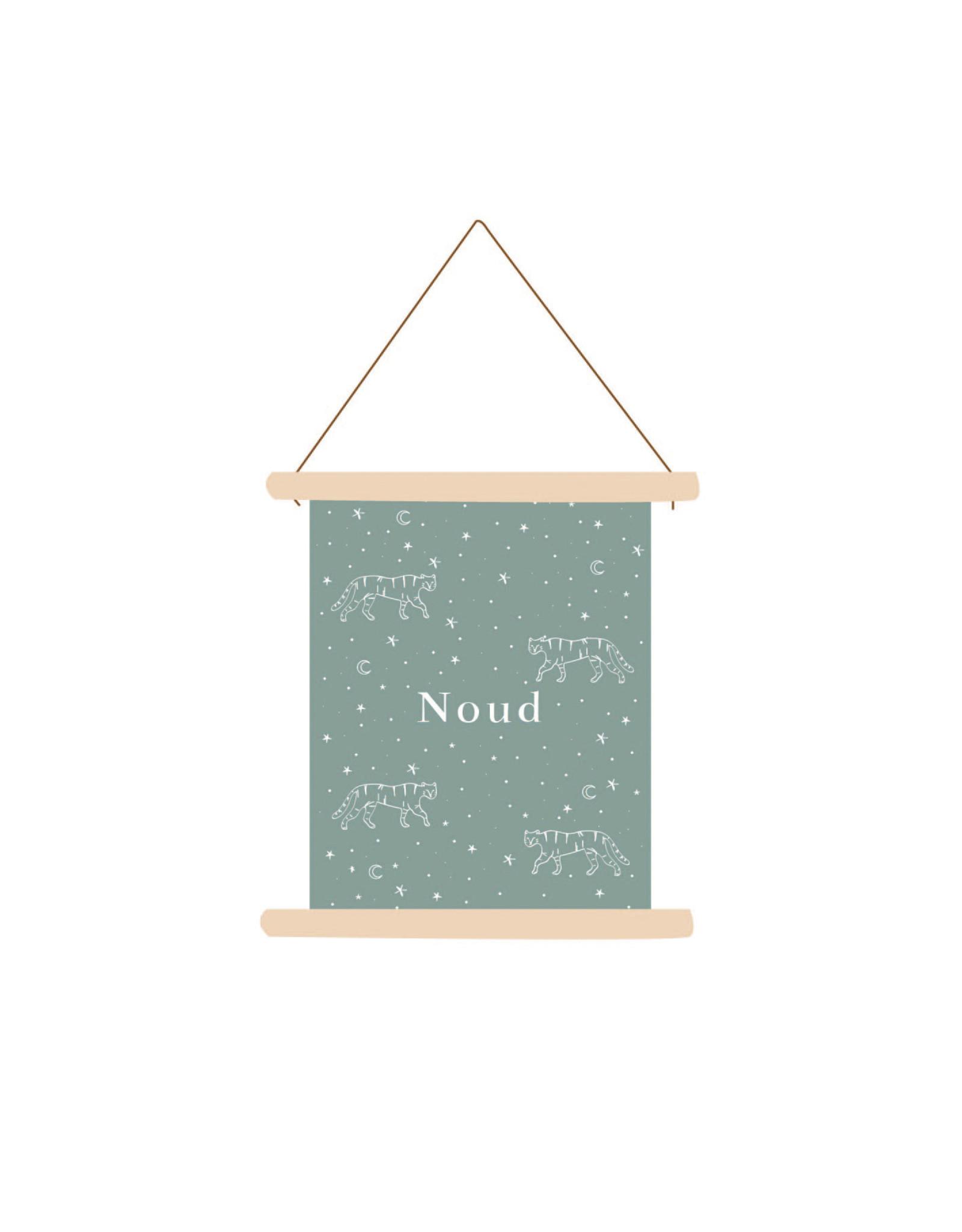 studiobydiede Textielposter Noud