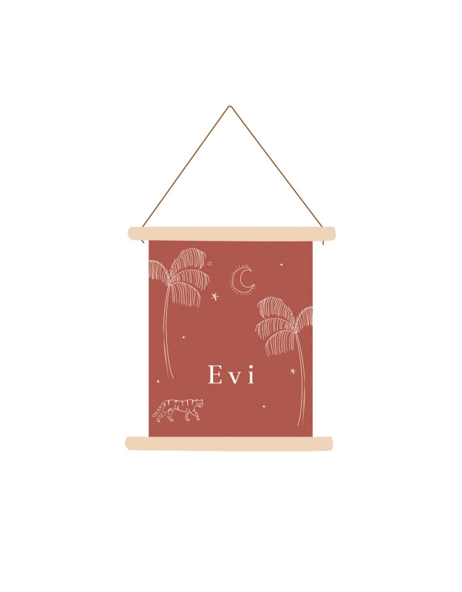 studiobydiede Textielposter Evi
