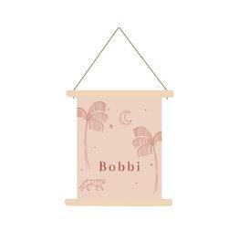 studiobydiede Textielposter Bobbi