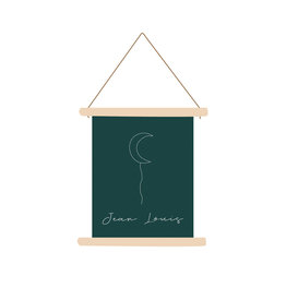 studiobydiede Textielposter Jean Louis