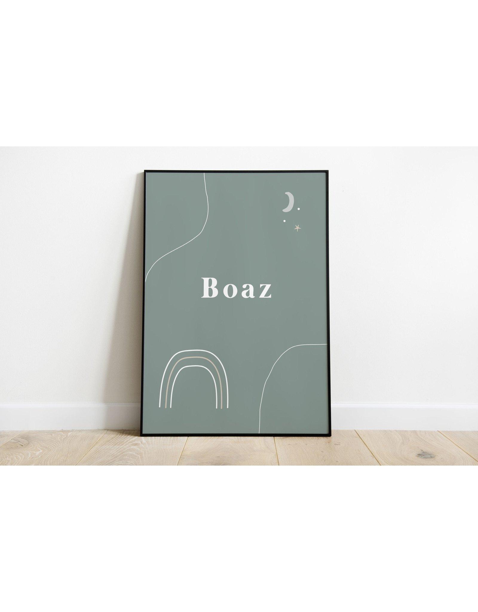 studiobydiede Poster Boaz