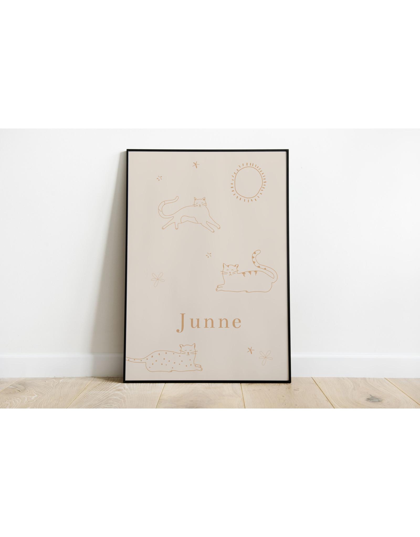 studiobydiede Poster Junne