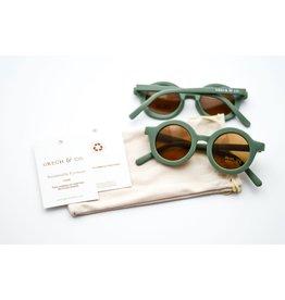 Grech & Co Zonnebril Green