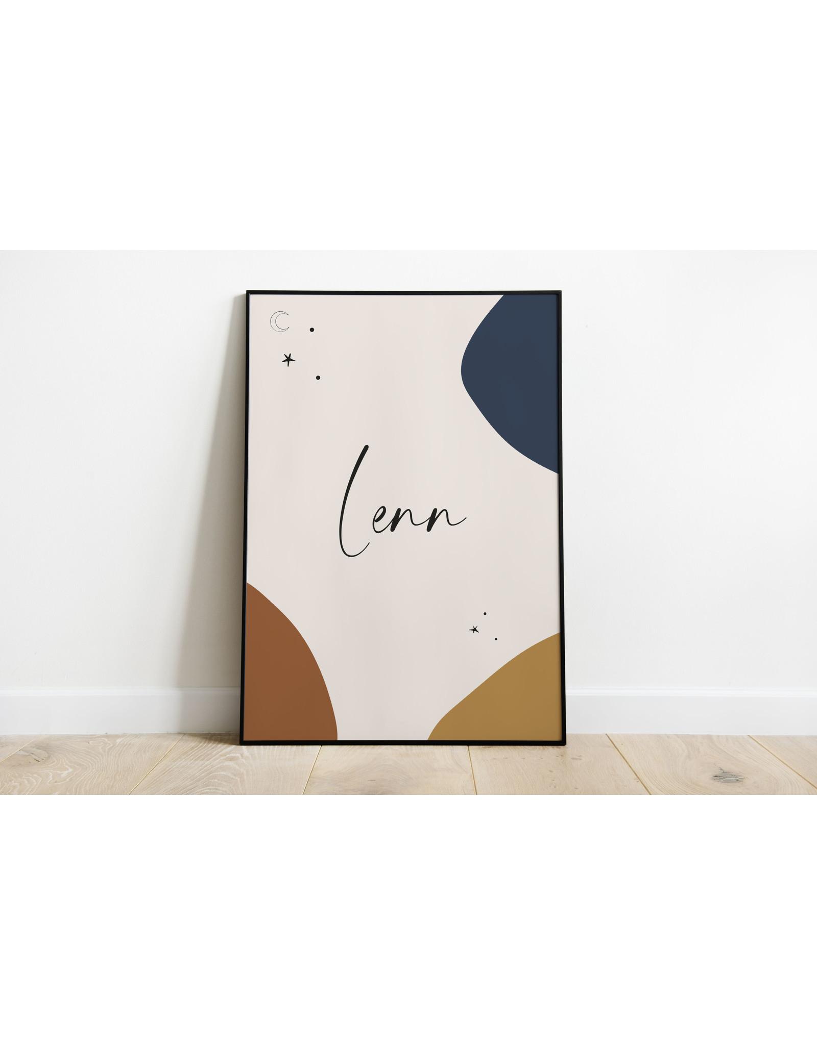 studiobydiede Poster Lenn