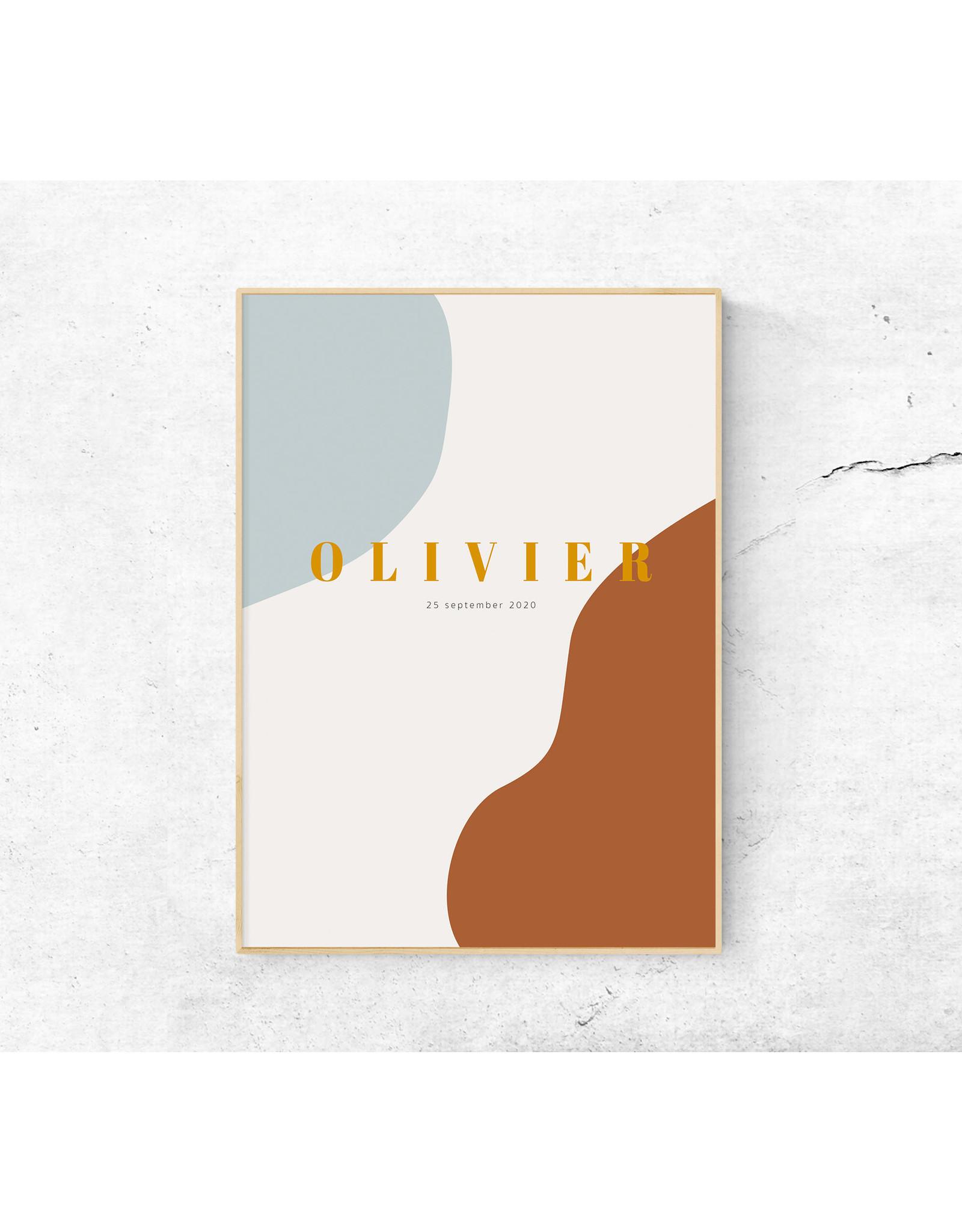 studiobydiede Poster Olivier