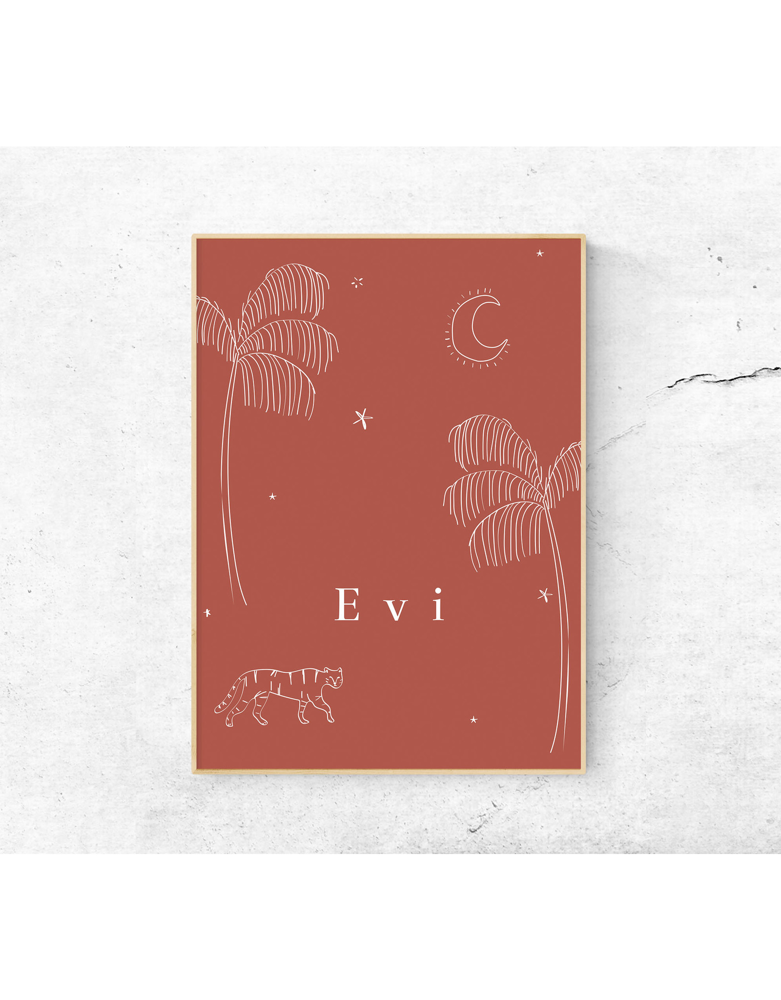 studiobydiede Poster Evi