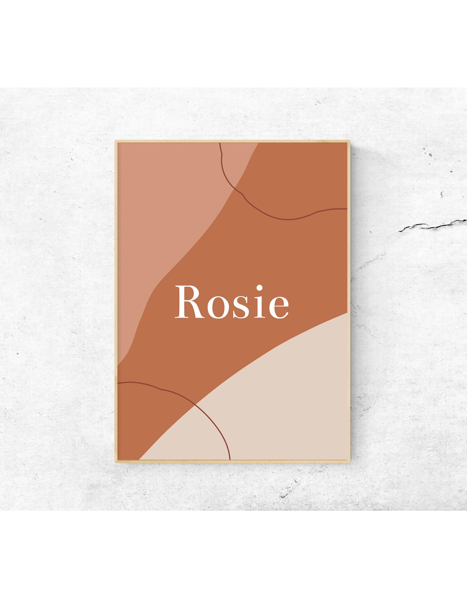 studiobydiede Poster Rosie