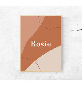studiobydiede Poster Rosie