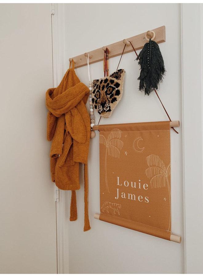Textielposter James