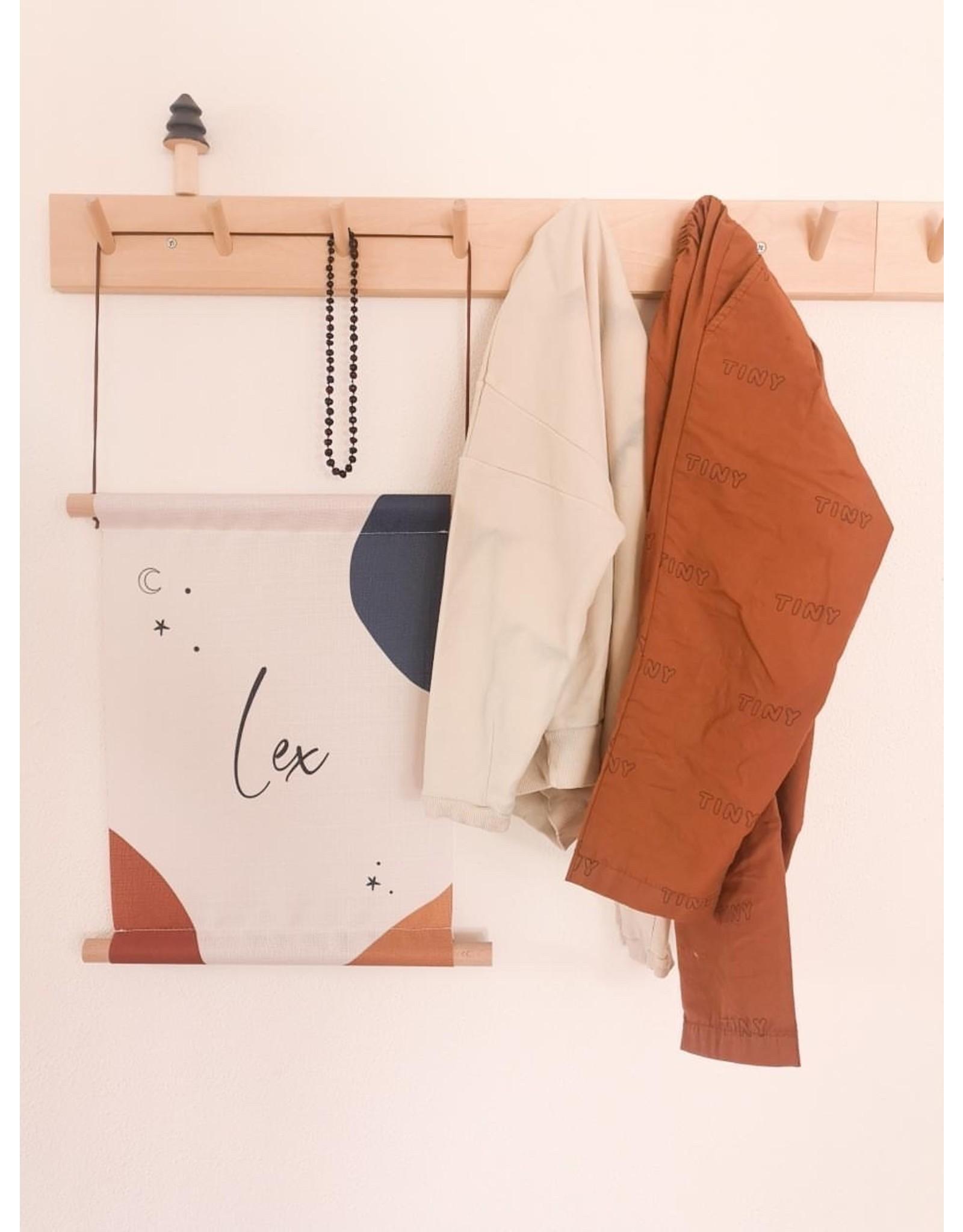 studiobydiede Textielposter Lenn