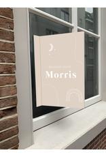 studiobydiede Geboortebord Morris