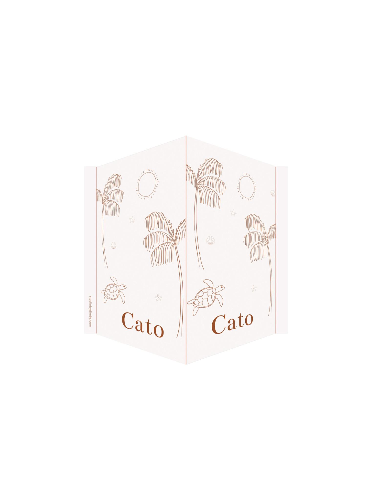 studiobydiede Geboortebord Cato