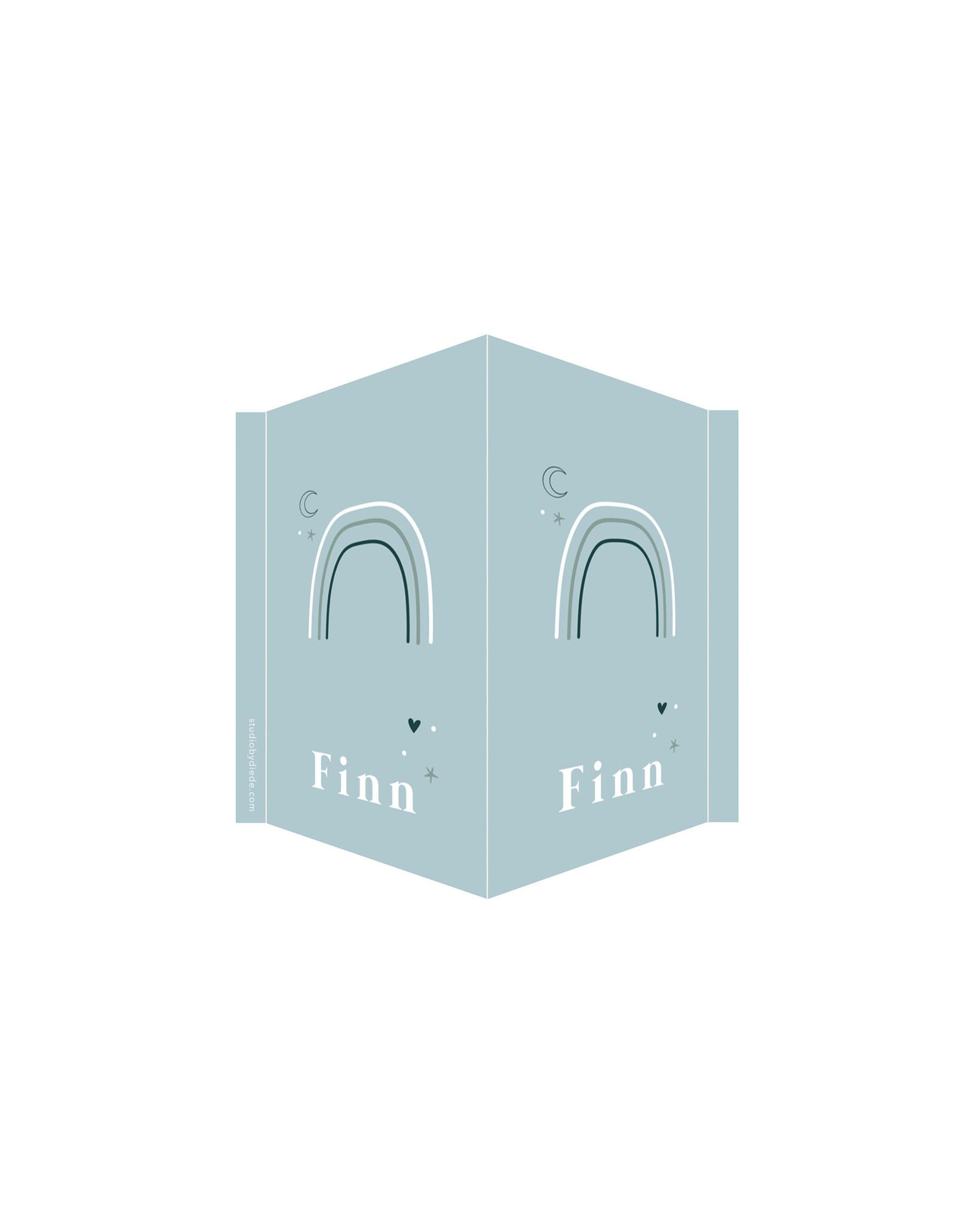 studiobydiede Geboortebord Finn