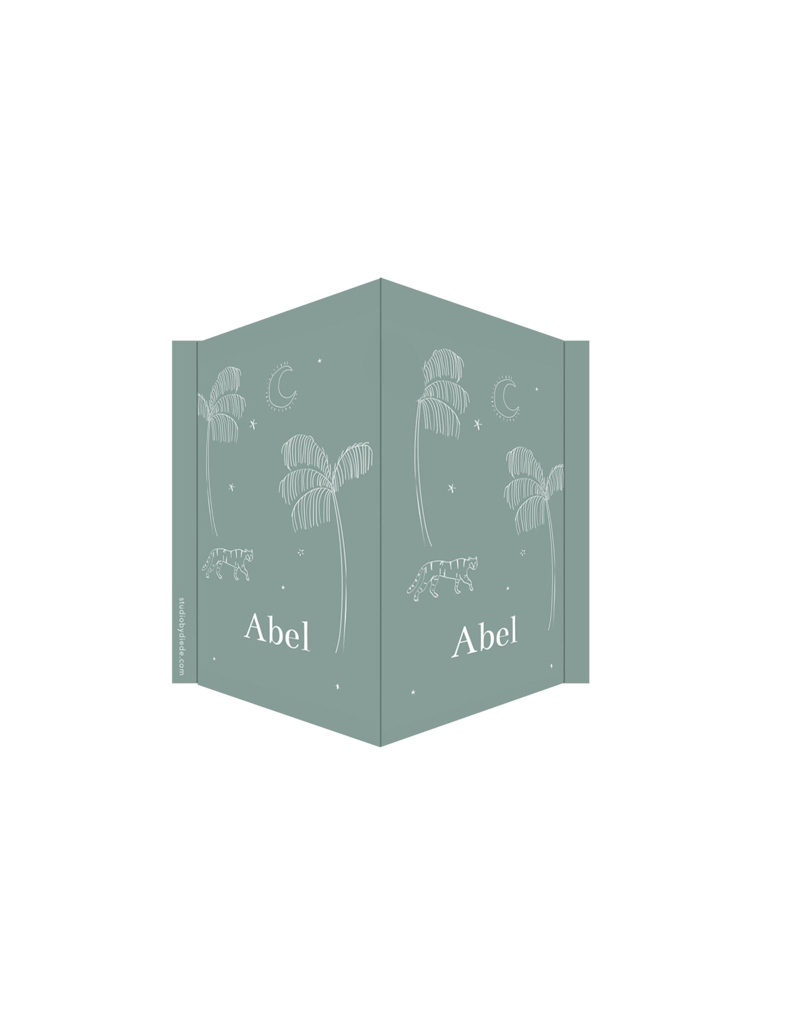 studiobydiede Geboortebord Abel