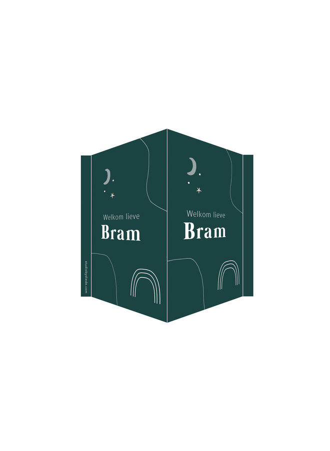 Geboortebord Bram