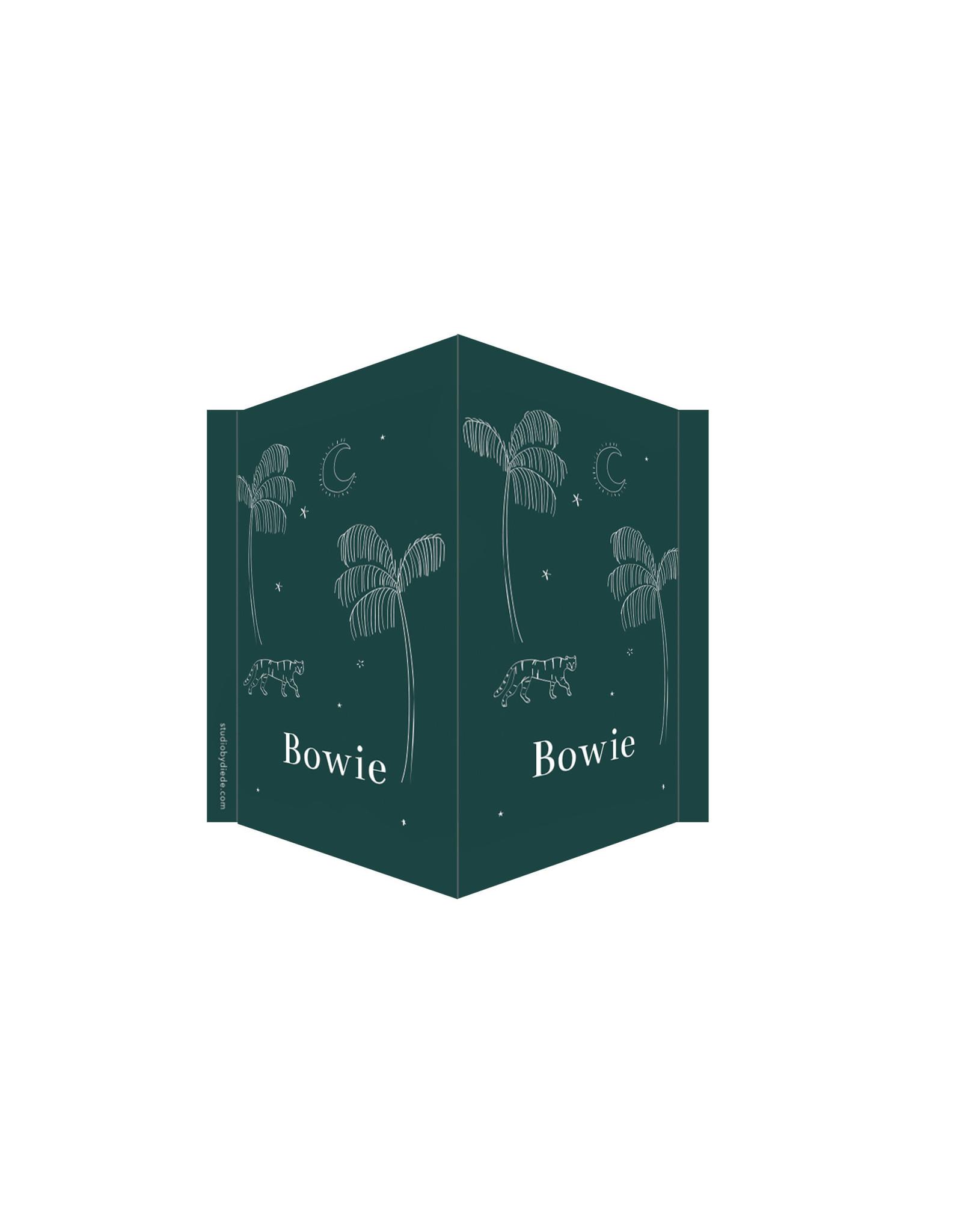 studiobydiede Geboortebord Bowie
