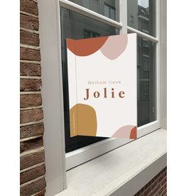 studiobydiede Geboortebord Jolie