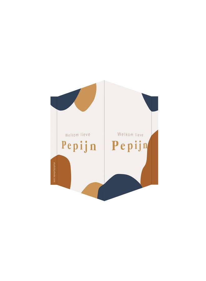 Geboortebord Pepijn