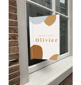 studiobydiede Geboortebord Olivier