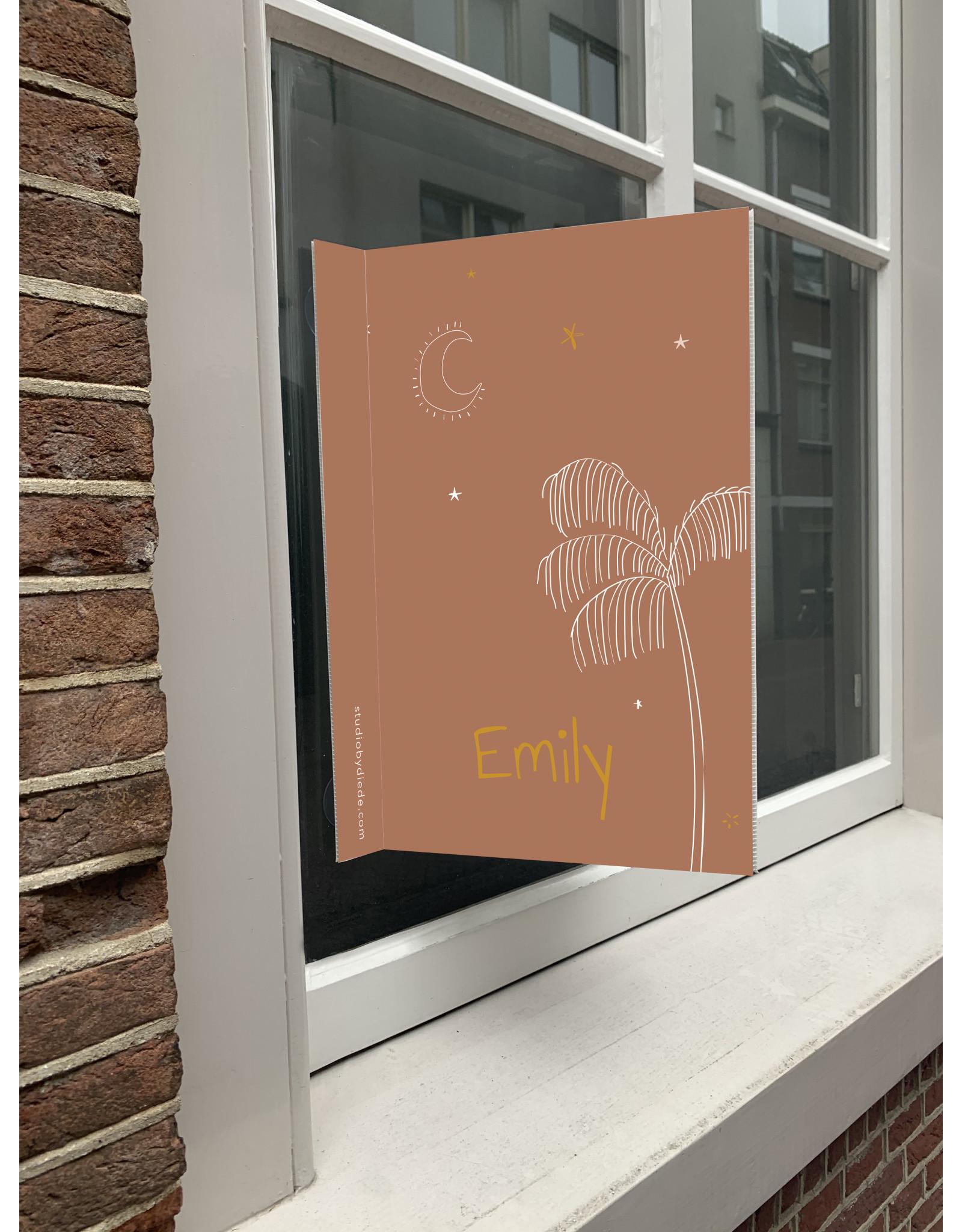studiobydiede Geboortebord Emily