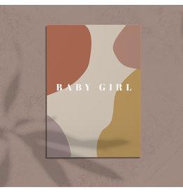 studiobydiede Kaart baby girl