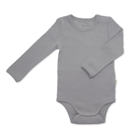 feeen mini Romper longsleeve Pebble