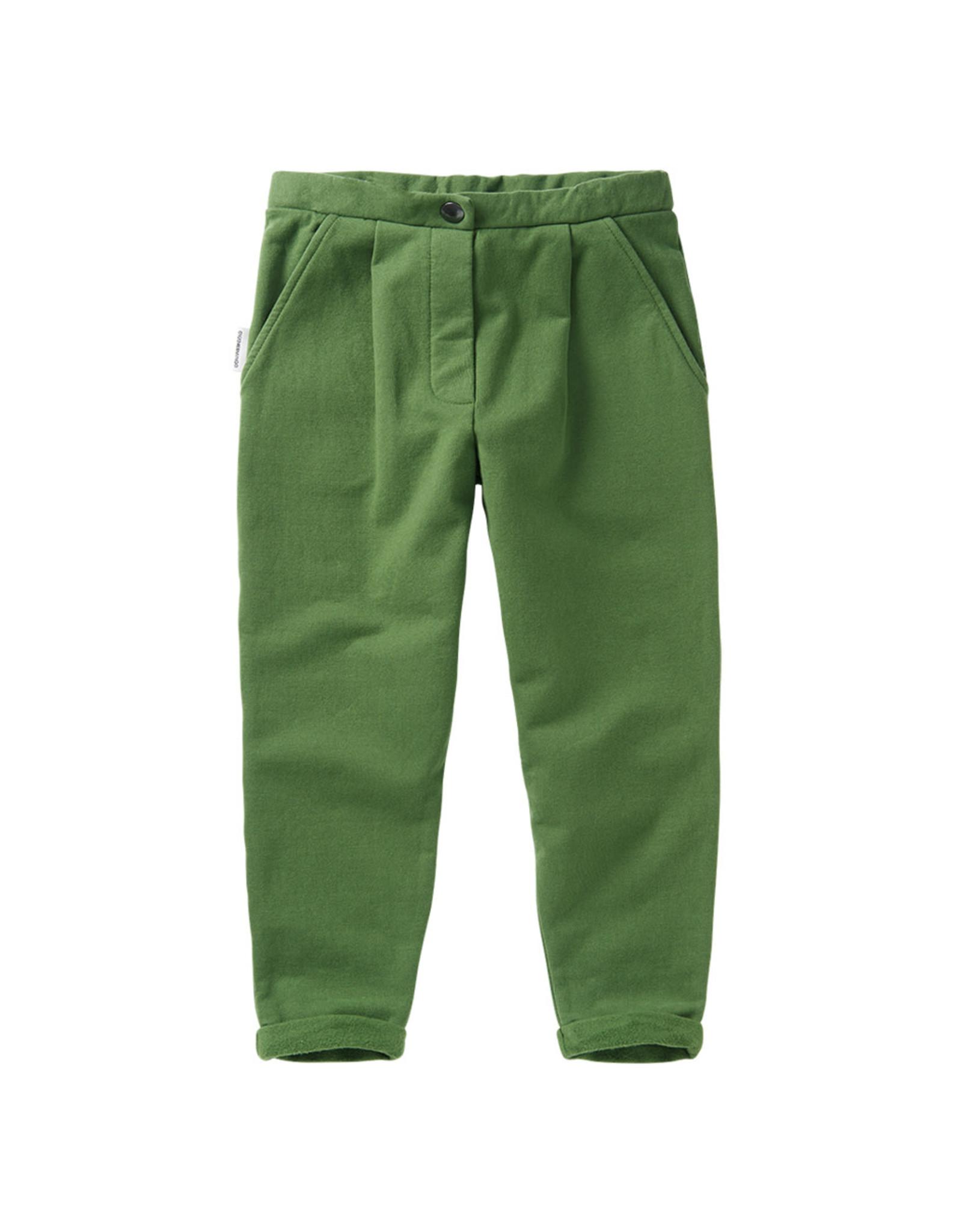 Mingo Cropped chino Moss Green