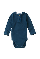 Mingo Bodysuit Teal Blue (rib)