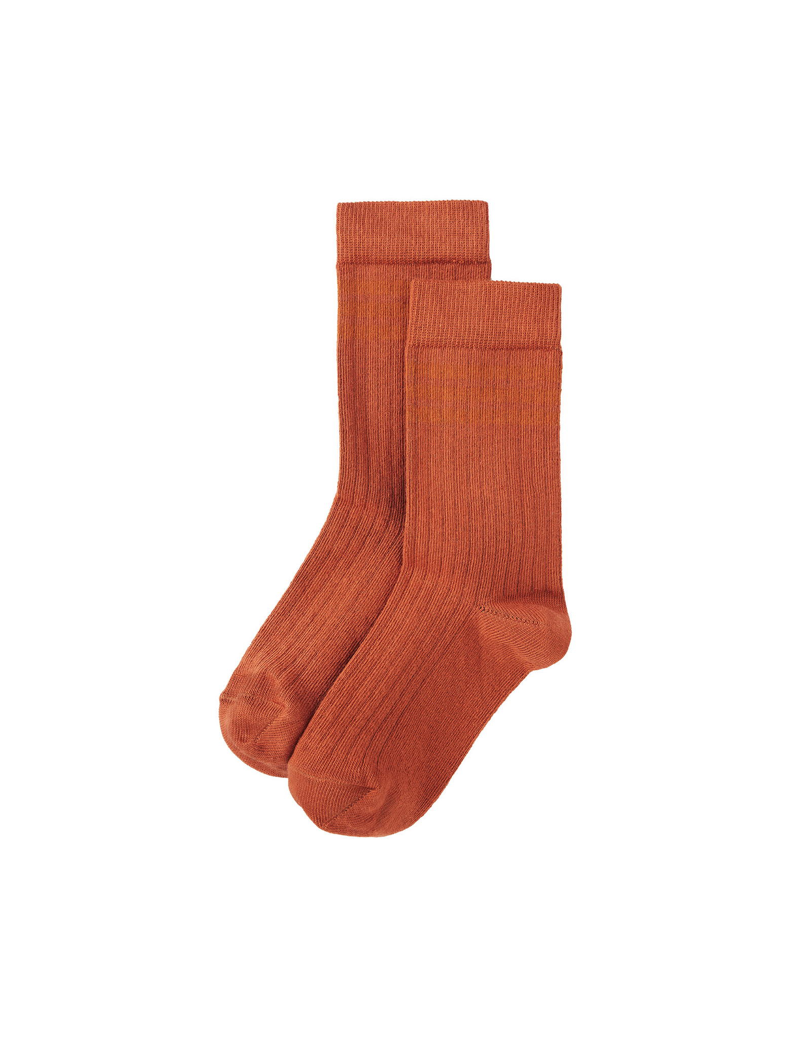 Mingo Socks terracotta/ginger (rib)