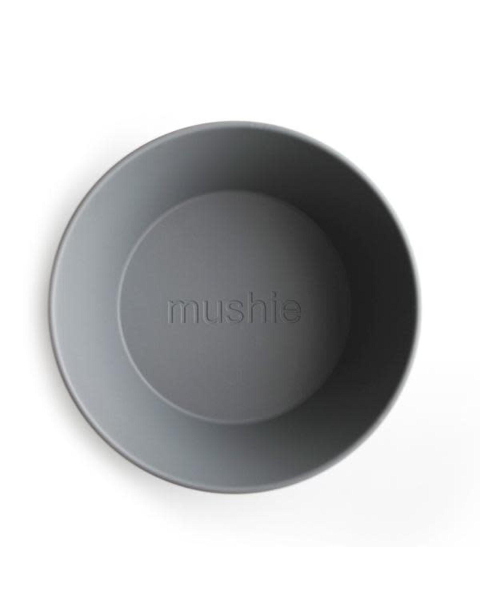 Mushie Mushie Bowl Round Smoke (2st)