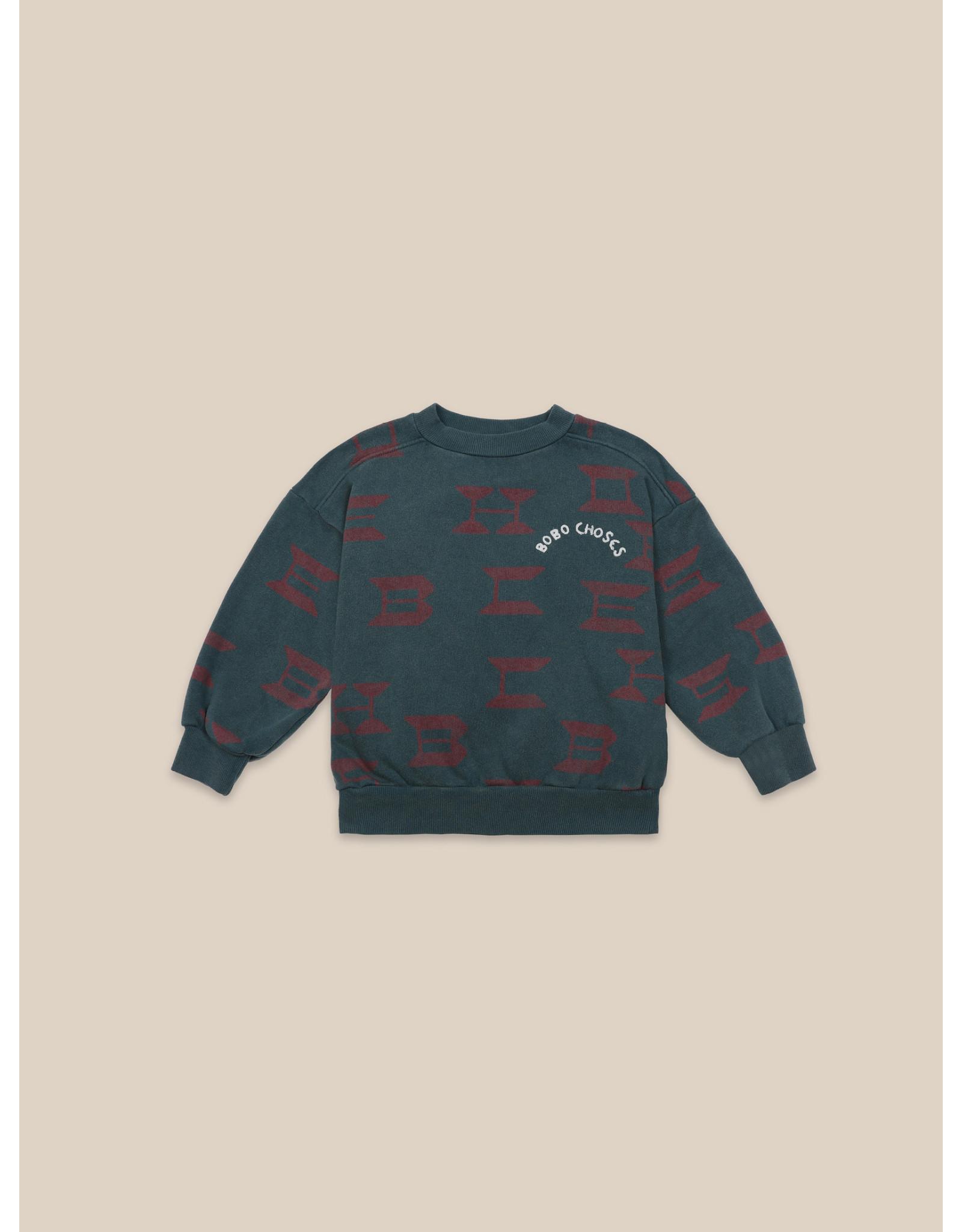 Bobo Choses Bobo Choses all over sweatshirt