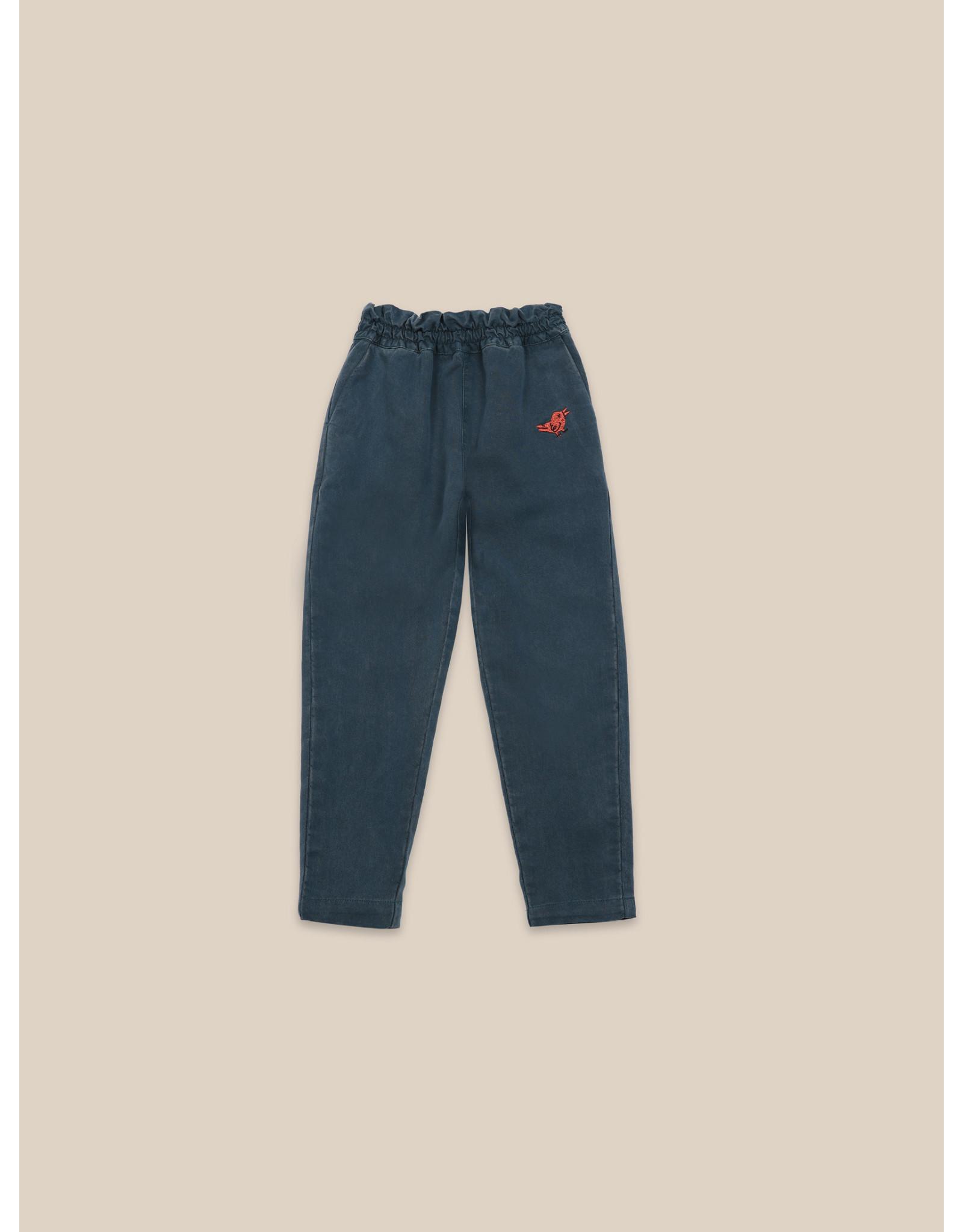 Bobo Choses Bird embroidery woven pants