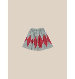 Bobo Choses Diamond woven skirt