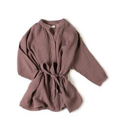 Nixnut Cord dress Mauve