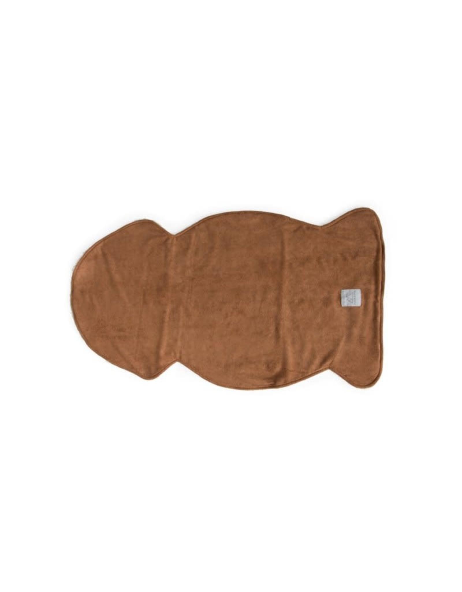 Nanami Teddy Animal skin inlay