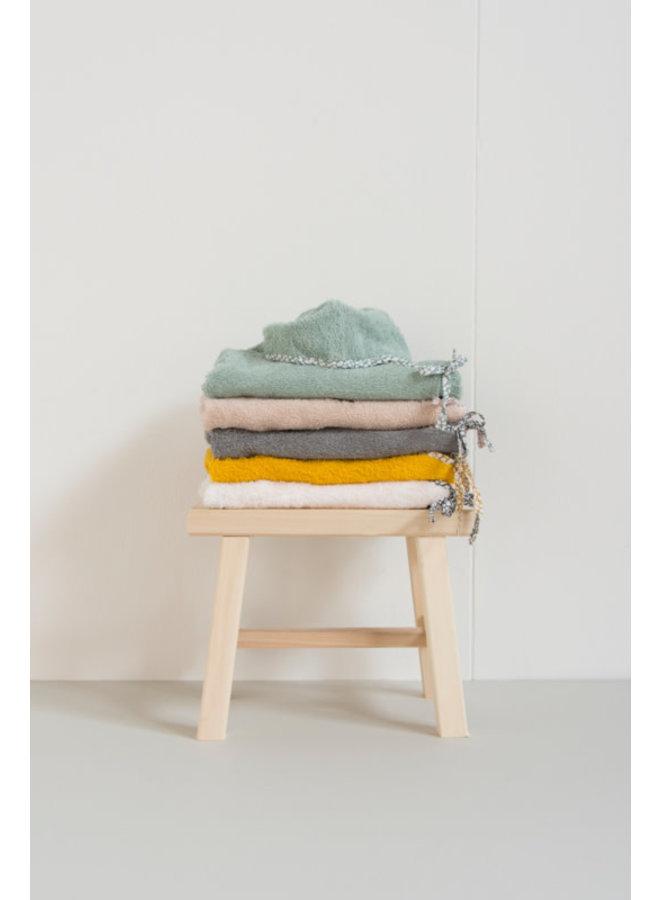 Bathrobe towel Mint (maat 3 jaar)