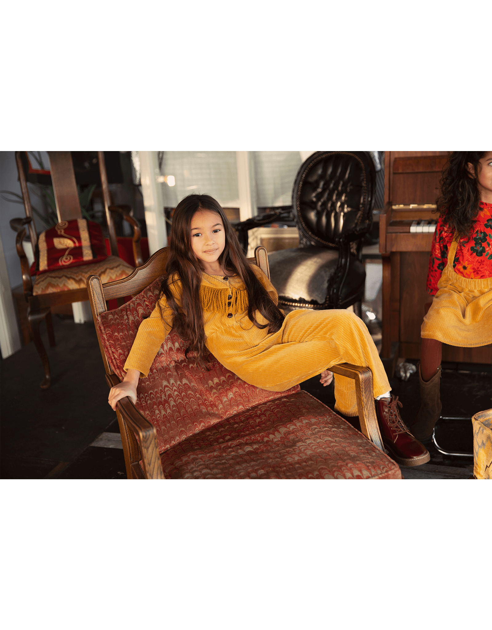 Ammehoela Jumpsuit Oda Honey-mustard