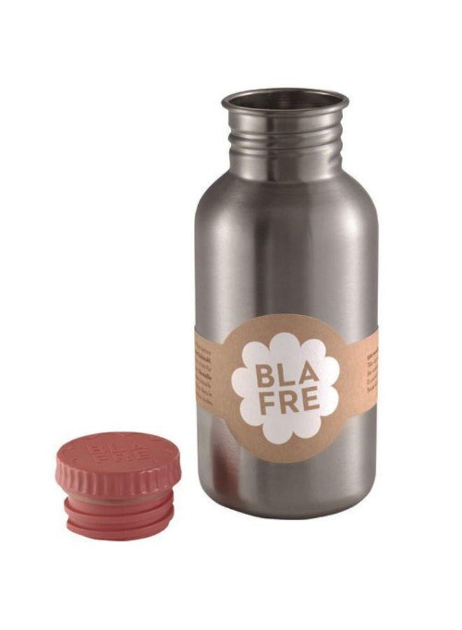 RVS drinkbeker roze 500 ml