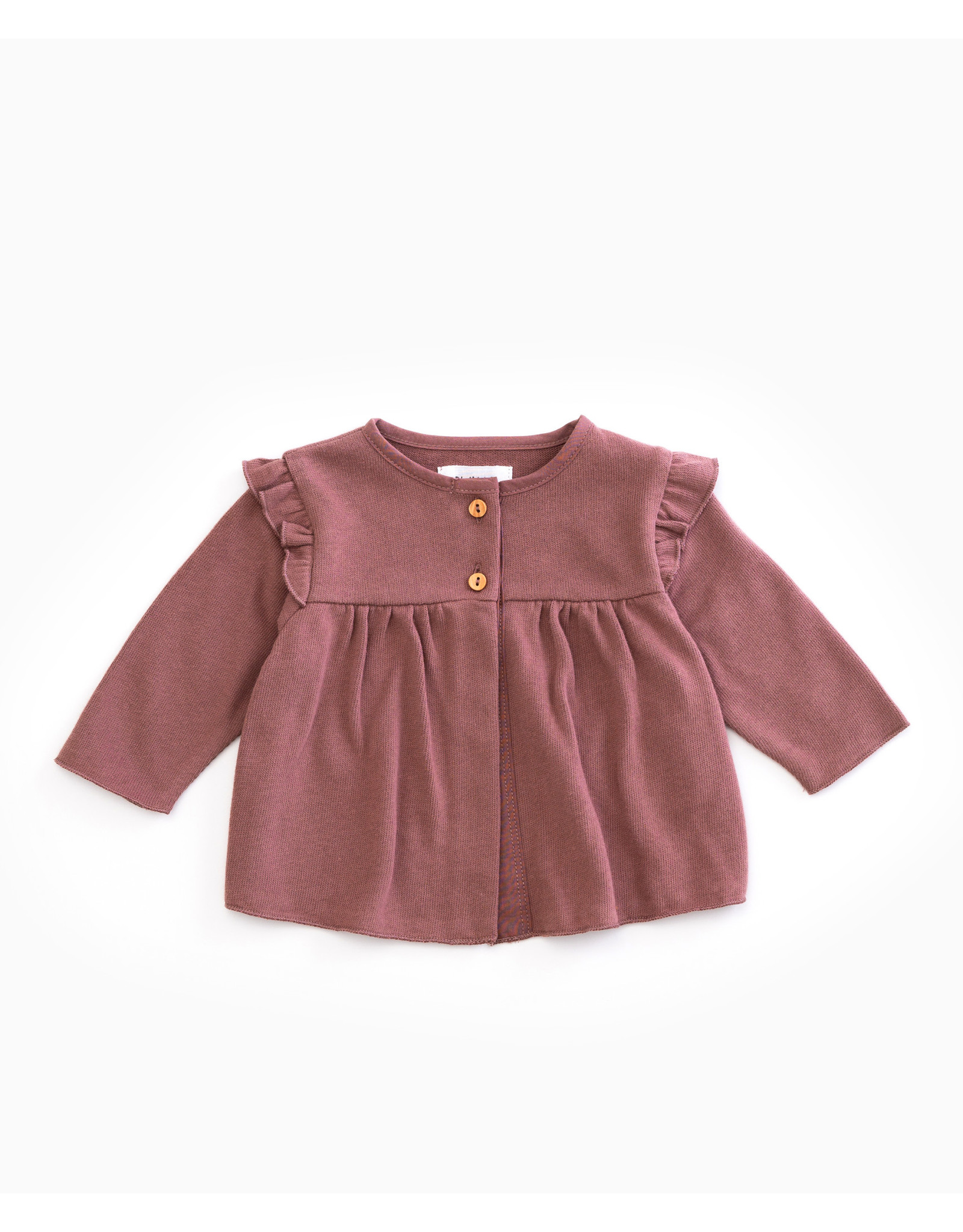 Play Up Jersey Jacket purplewood