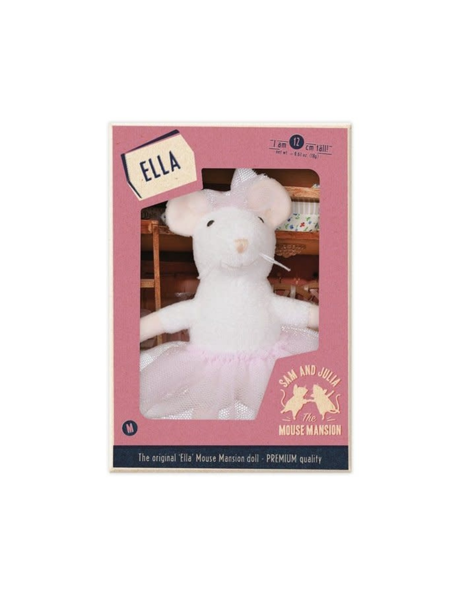 Het muizenhuis Knuffeltje Ella