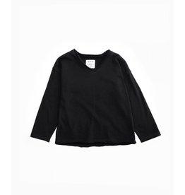 Play Up V-neck fleece sweater