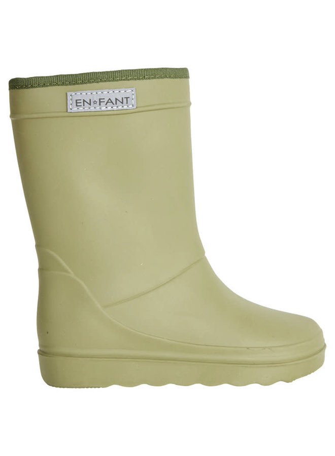 Thermo boot - Dusty Olive