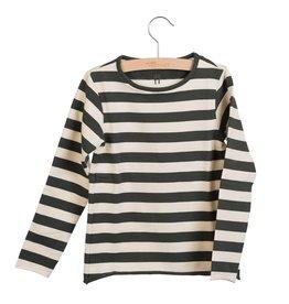 Little Hedonist Longsleeve sand pirate black striped